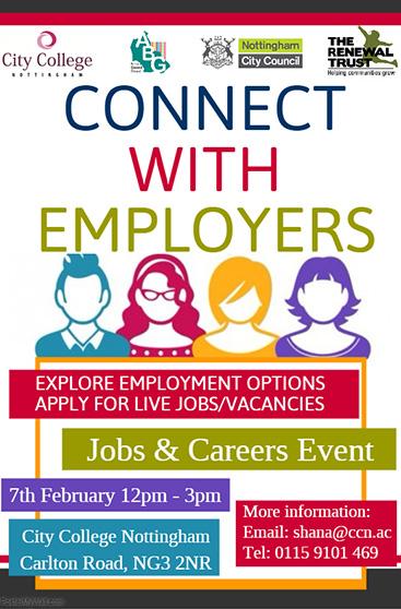 jobs fair poster