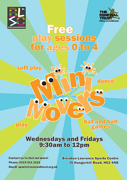 Mini Movers flyer