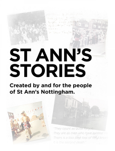St Ann's Stories front page